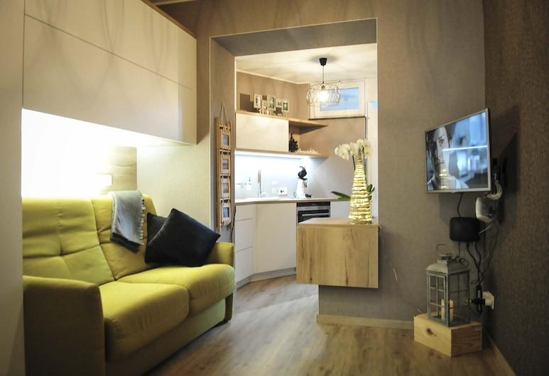 Das Studio ist Gelegen in Ostbelgien, im Herzen von Eupen - Ardennen, Eupen, ห้องนั่งเล่น