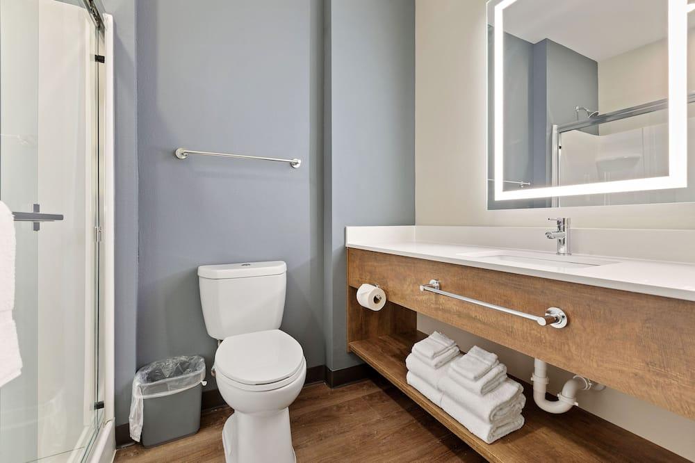 尊榮開放式客房, 非吸煙房, 冰箱和微波爐 - 浴室