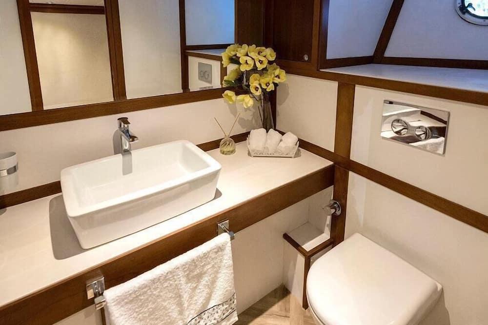 Luxusný karavan - Kúpeľňa