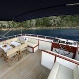 Luxusný karavan - Terasa