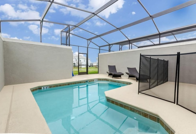 Disney House-8 Guests!+pool+free Resor - 9025dld 4 Bedroom Townhouse, Davenport, Townhome, 4 Bedrooms, Pool