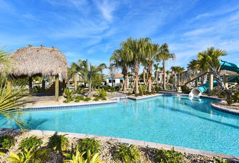 Disney House-8 Guests!+pool+free Resort!- 8990sd 4 Bedroom Townhouse, Davenport, Townhome, 4 Bedrooms, Pool