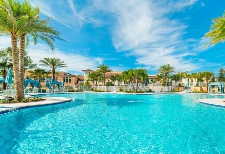 Luxury Town With Splash Pool In Solara Resort 4 Bedroom Townhouse, Kissimmee, Townhome, 4 Bedrooms, Pool