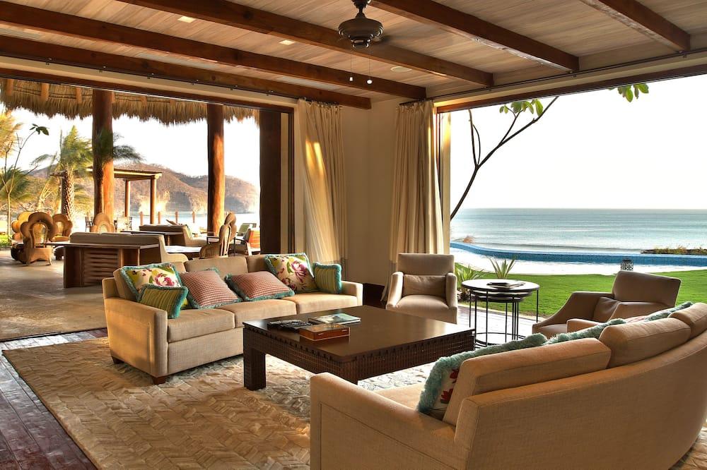 Villa presidencial - Sala de estar