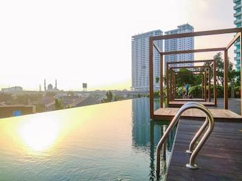 ภาพ Simple Studio Apartment at Grand Kamala Lagoon ใน เบกาซิ