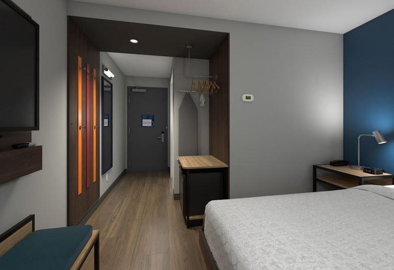 Tru by Hilton Franklin Cool Springs Nashville, Franklin, Room, 1 King Bed, Accessible, Bathtub, Guest Room