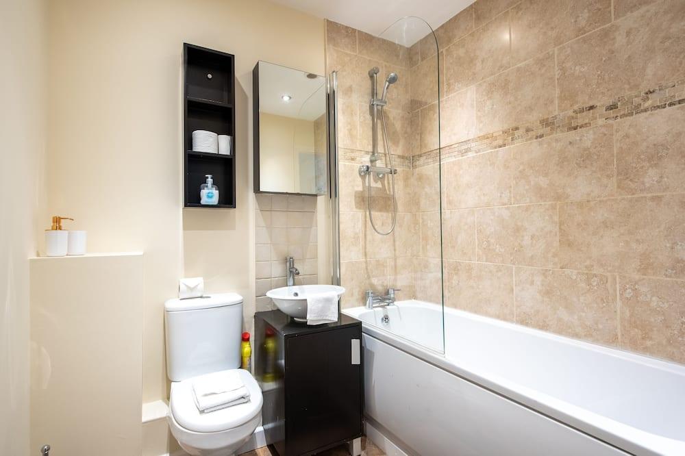 公寓, 私人浴室, 庭園景觀 - 浴室