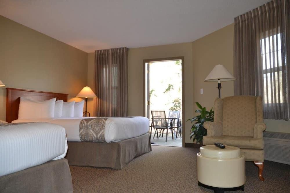 Chambre Double Standard - Vue depuis la chambre