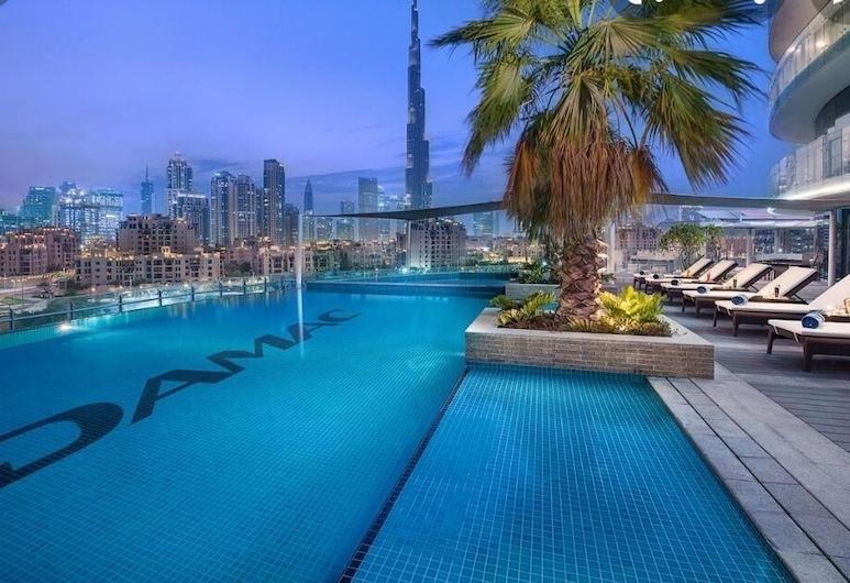 شقق الأشرفية الفاخرة - وسط المدينة, دبي, حمام سباحة