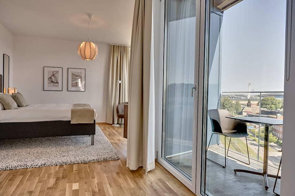 Departamento Deluxe, 1 cama Queen size - Habitación