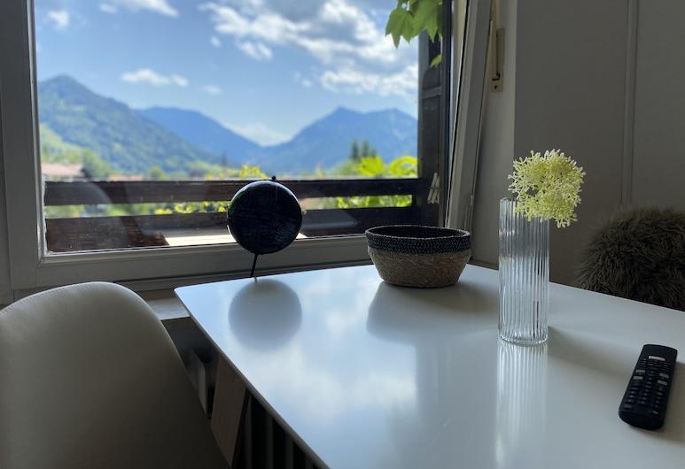 Wohnen am Schliersee mit Panoramablick, Schliersee, Standard Double Room, Living Area