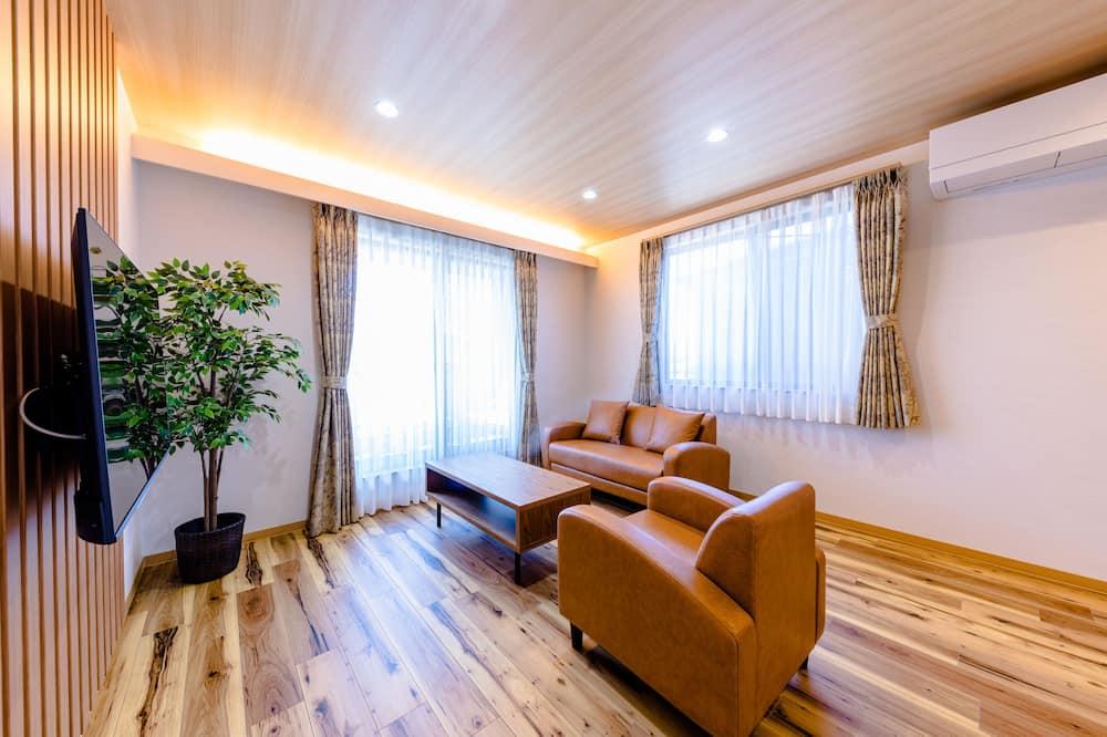 Vila, 3 spavaće sobe, za nepušače - Dnevna soba