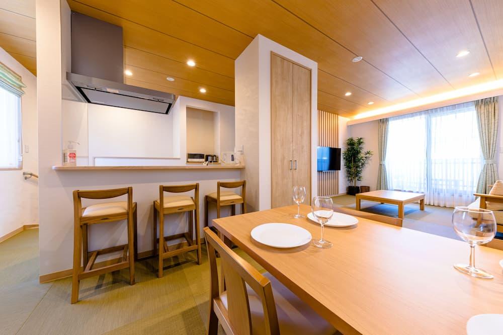 Vila, 3 spavaće sobe, za nepušače - Obroci u sobi