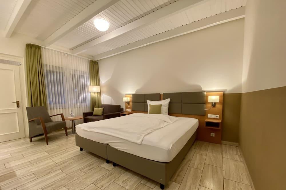 חדר סטנדרט זוגי או טווין, חדר שינה אחד, ללא עישון, טרסה - חדר אורחים