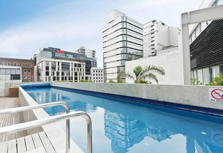 2 Brm Apt with Stunning Harbour Views, Level 24, Auckland, Outdoor Pool