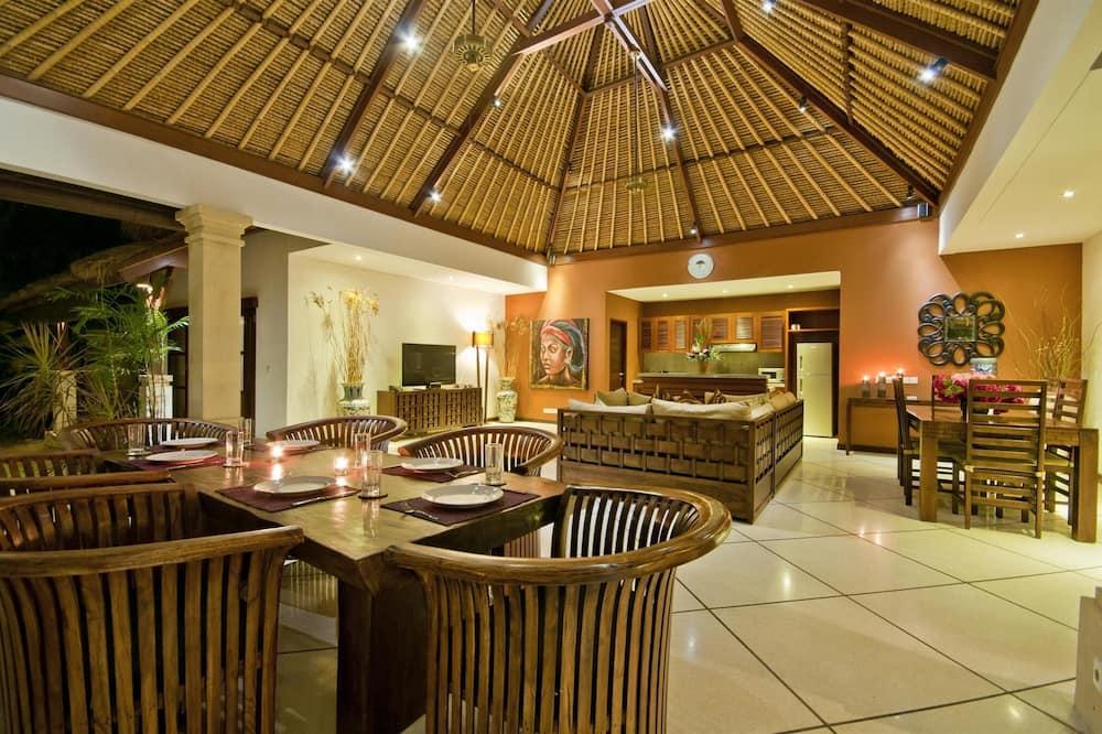 Villa, 3Schlafzimmer - Wohnbereich