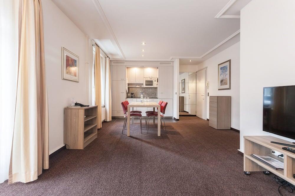 Appartement Supérieur, 2 chambres, non-fumeurs, coin cuisine - Coin séjour