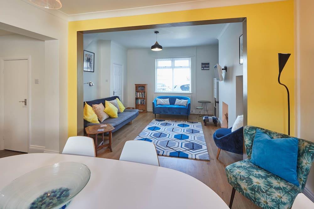 Ferienhaus - Wohnbereich