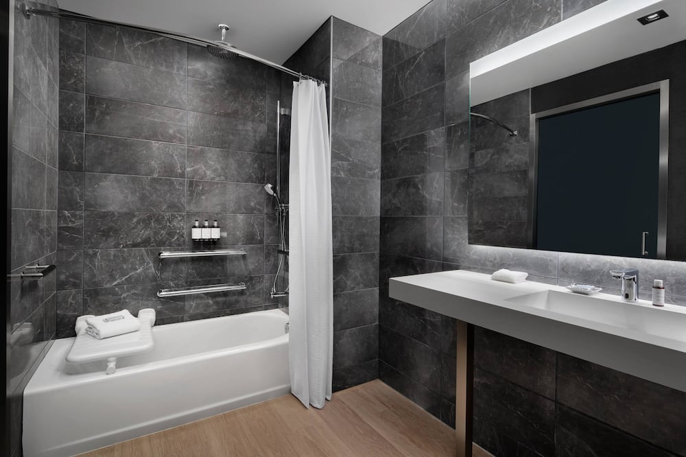 City Room, 1 King Bed, City View - Bathroom