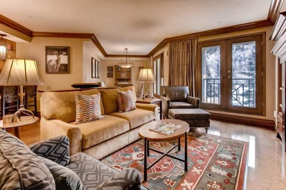 Appart'hôtel (Beaver_Creek_Park_Hyatt_2bed) - Salle de séjour