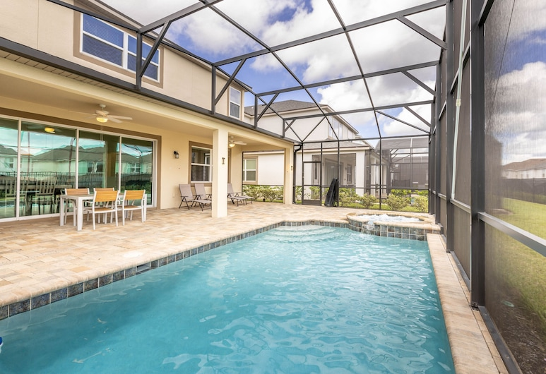 Brand New home 5Bdr 4.5Bath with Pvt pool, Kissimmee