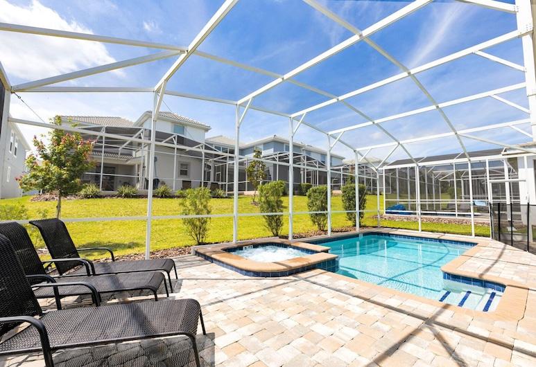NEW Grand Orlando Villa - Sleeps 20, 6bdr 6bath With Pvt Pool Jacuzzi, Davenport