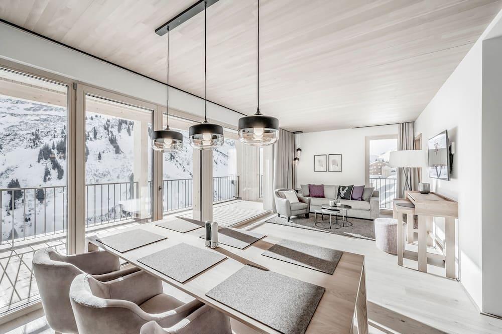 Căn hộ, 2 phòng ngủ (TOP05 - Familienglück) - Khu phòng khách