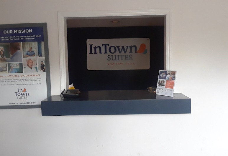InTown Suites Extended Stay Columbia SC - Two Notch, Columbia, Recepción