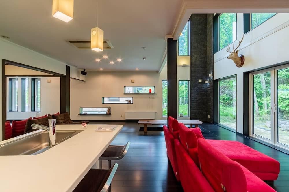 Ferienhaus, 3Schlafzimmer, Nichtraucher - Wohnbereich