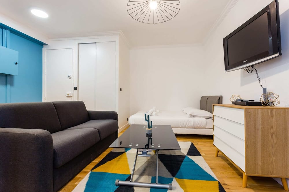 Basic Studio, 1 Double Bed with Sofa bed - Living Room