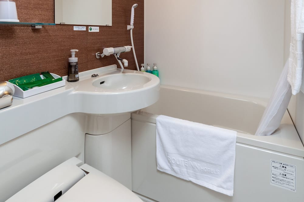 Jednolůžkový pokoj typu Superior, nekuřácký - Koupelna
