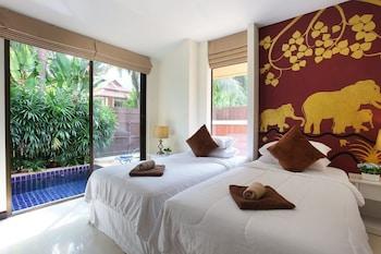 ภาพ บูติค รีสอร์ต พูลวิลล่า 1 ห้องนอน ใน ป่าคลอก