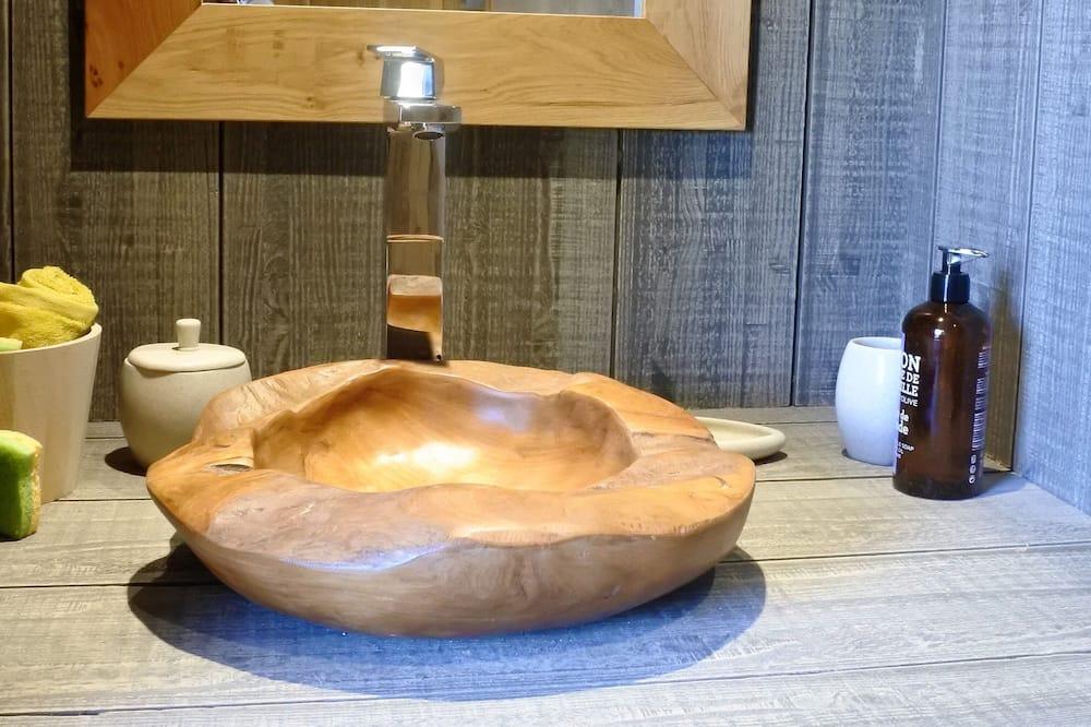 Romantic-mökki - Kylpyhuone