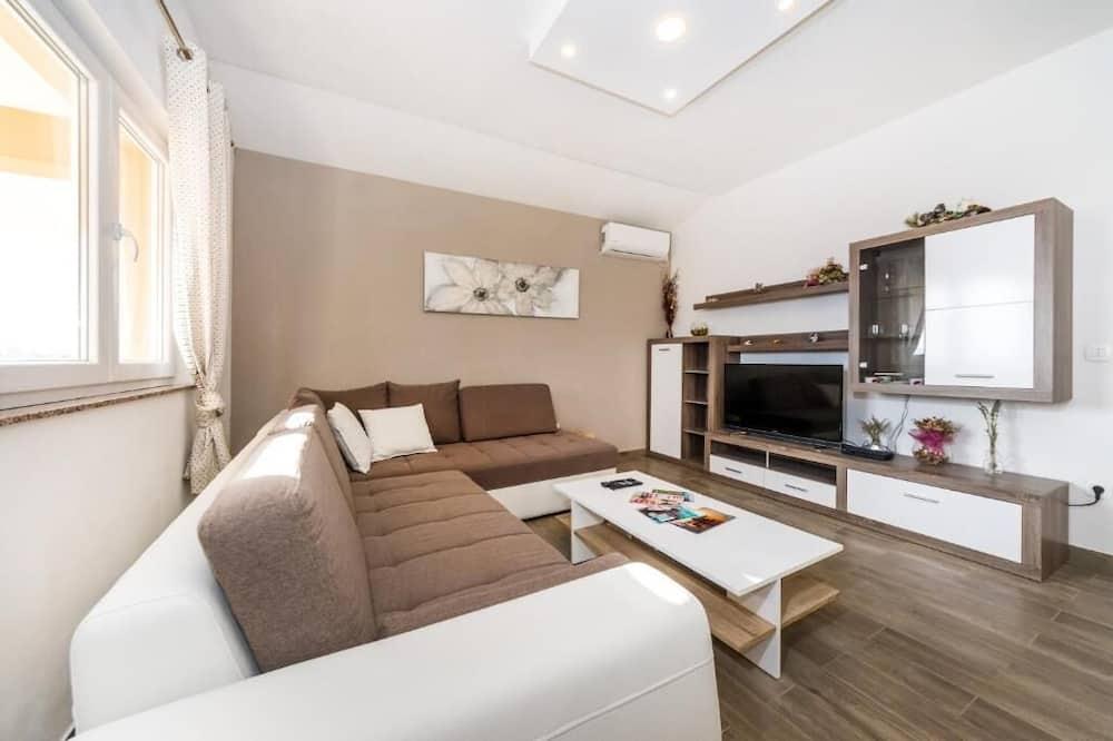 全景公寓, 3 間臥室, 2 間浴室, 海景 - 客廳