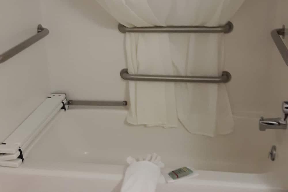 Phòng, 1 giường cỡ king - Phòng tắm