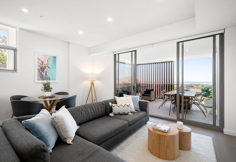 Urban Rest - The Azure Bondi, Bondi, Executive Penthouse, 2 Bedrooms, Ocean View, Sea Facing, Living Area
