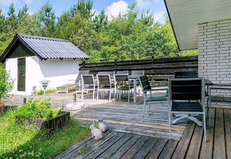 6 Person Holiday Home in Nørre Nebel, Norre Nebel, Balkon