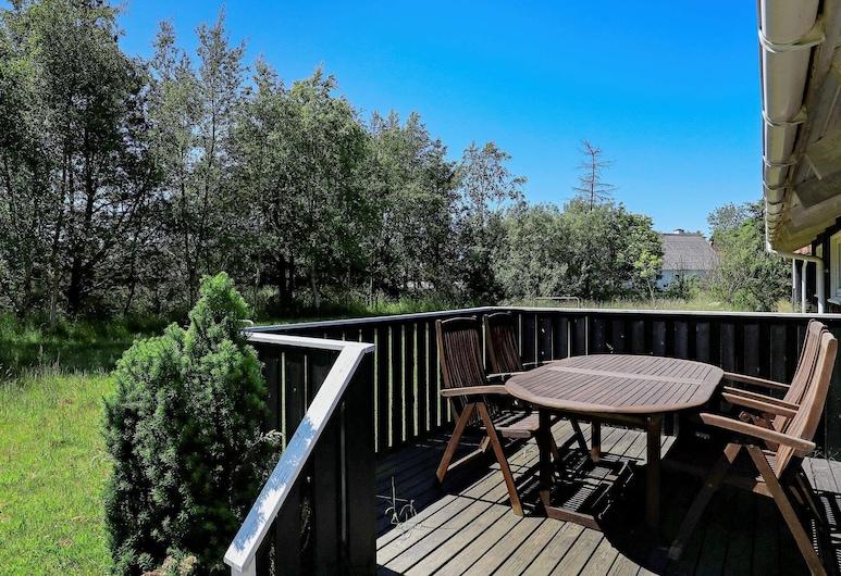 4 Person Holiday Home in Strandby, Strandby, Balkon