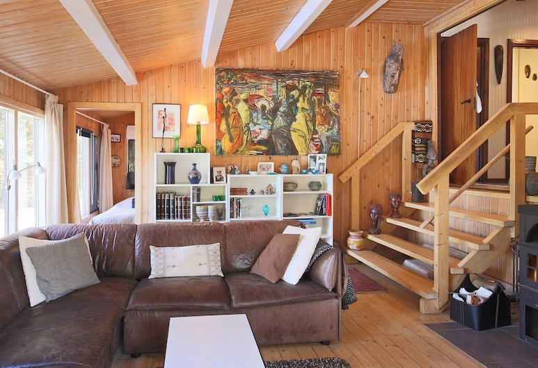 8 Person Holiday Home in Holbæk, Holbaek, Living Room