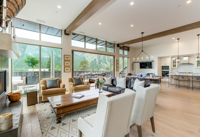 The Penthouse, Ketchum, The Penthouse, Living Room