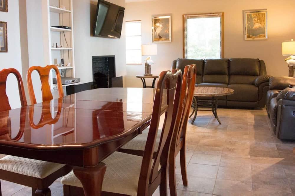Ferienhaus - Wohnzimmer