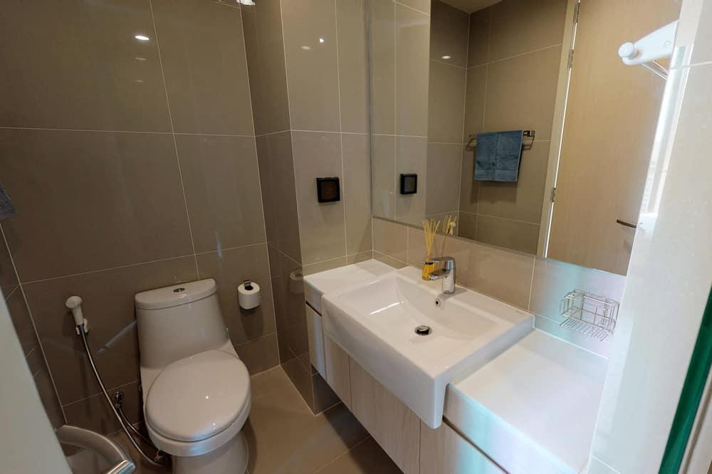 Apartment, 1 Bedroom, Kitchen - Bilik mandi