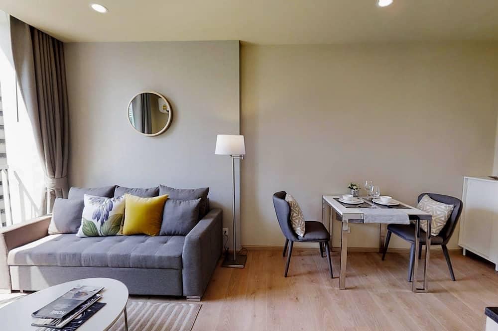 Lejlighed - 1 soveværelse - køkken - Stue
