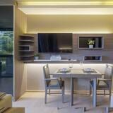 Apartment, 1 Schlafzimmer, Küche - Essbereich im Zimmer