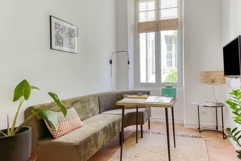Apartmán typu Basic, 1 veľké dvojlôžko - Obývačka
