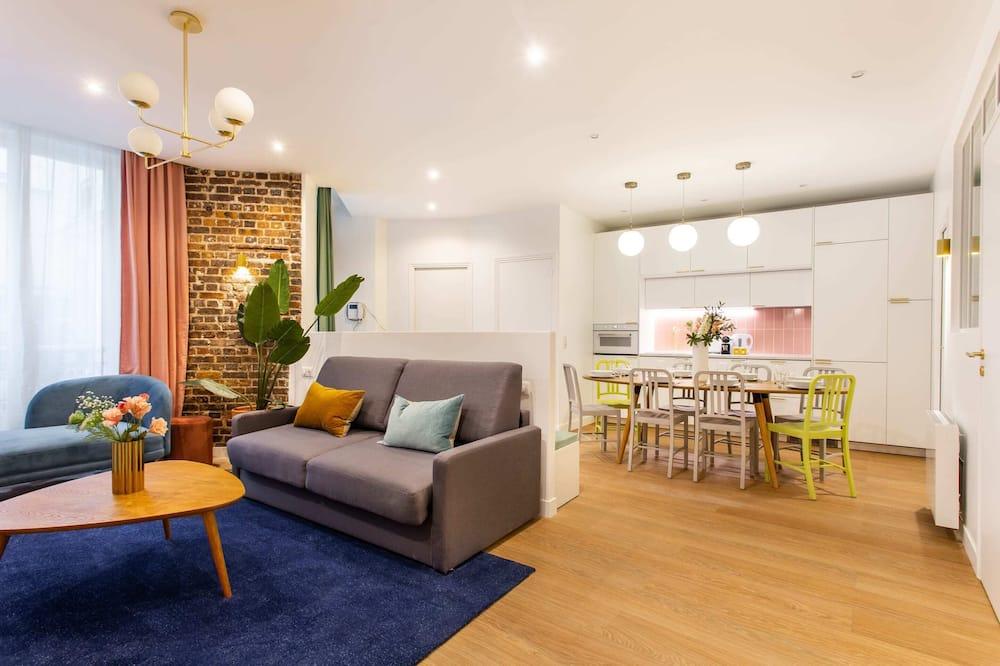 Apartmán typu Basic, více lůžek - Obývací pokoj
