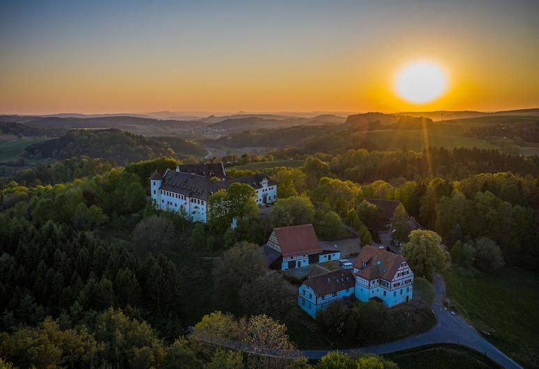Schloss Hohenfels | Gästehaus Morgenrot, Hohenfels