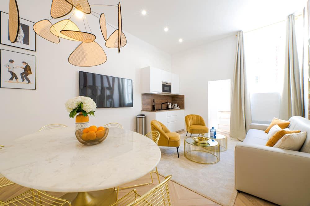 Luxury apartment in Paris  - Musée du Louvre - 客廳
