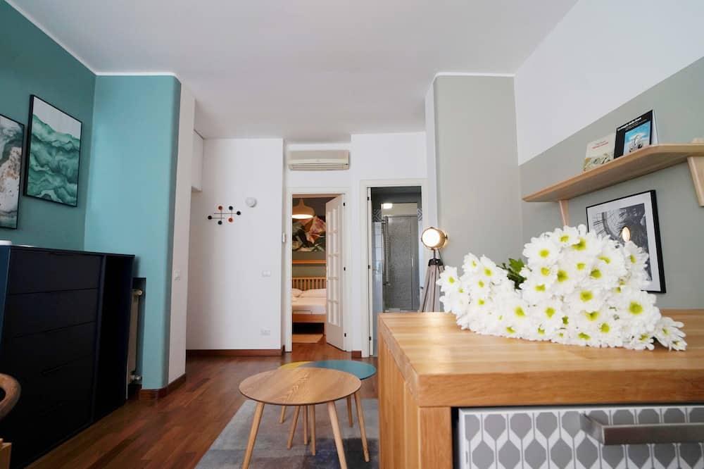 Komforta divvietīgs numurs, viena guļamistaba - Dzīvojamā zona