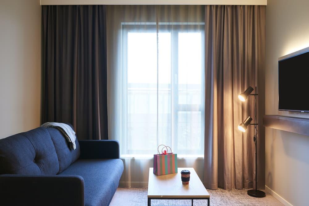 Rodinný pokoj, dvojlůžko (180 cm) (Moxyfied Family Sleeper) - Obývací prostor
